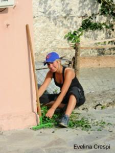 me doing gardening