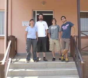 Eirini, Agelos, Alvin and me!