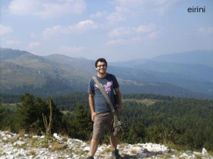 At the mountains over the lake of Agras-Nisi-Vrita!