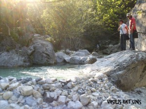 Eirini and Agelos at the Pozar(Loutra loutrakiou)!!A magnificent place!