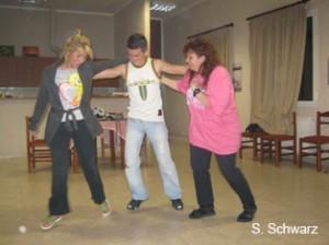 me,aldo and sofia dancing sirtaki
