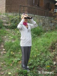 just pretending bird watching=))